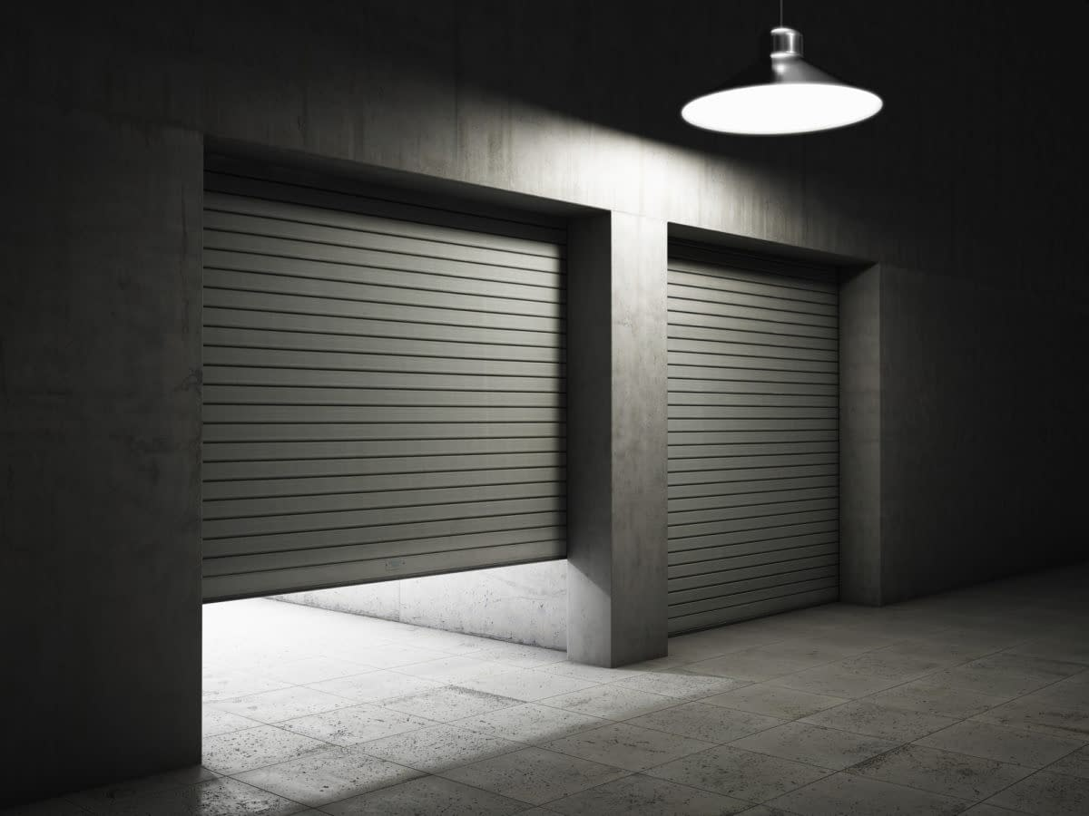 Who offers rollup garage doors?