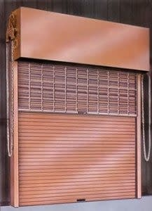 Super-Imposed Rolling Double Door Frame