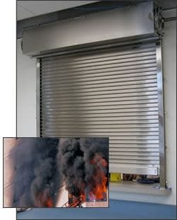 Auto-Smoke Fire-Shut® Counter Shutter Door