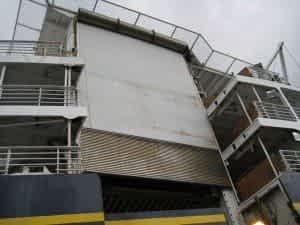Dockport 6 Slat Heavy Duty Ferry Dock Doors