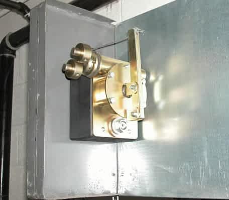 Red-Reset GC Door Operator