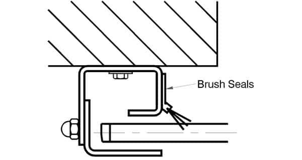 Smoke Rated Shutters, Smoke Sealed Shutters, Drawing Details